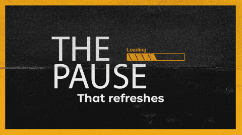 The Pause that Refreshes…
